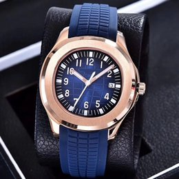 Wholesale Cases Straps - 8 colors PP luxury brand watch 39mm Aquanaut Automatic 2813 Shanghai movement steel case comfortable rubber strap original clasp AAA watch