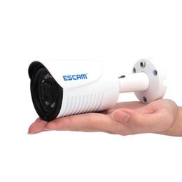 Wholesale Surveillance Cameras Indoor Bullet - ESCAM Plane QE07 Surveillance Camera H.264 ONVIF POE 720P IR Outdoor Waterproof Mini Bullet IP Camera