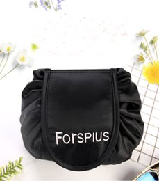 Wholesale Korean Jewelery - NEW vely lazy cosmetic bag Portable Drawstring Travel Makeup Bag Organizer Storage Jewelery drawstring cosmetic bag storage LJJK765