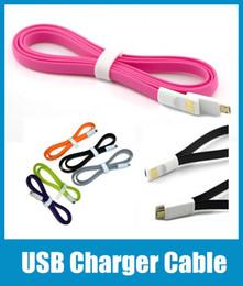 Canada câble universel v8 micro usb aimant cordon de synchronisation de nouilles plat ligne de données de charge colorée pour s3 s4 s5 note3 4 HTC v8 téléphone CAB010 cheap fitted flat Offre