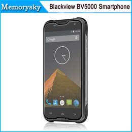 Wholesale Smartphone Android Quad Core Rugged - 4G LTE Waterproof IP68 Rugged Dustproof Quad Core Android 5.1 Lollipop MTK6735P Original Blackview BV5000 Smartphone 5.0 010015