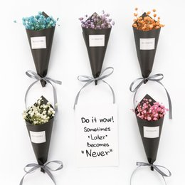 Wholesale Dance Touch - 2017 New Real Touch artificial Small Flower Bouquets With 5 Colors for Home Garden Wedding Decorations XL-365