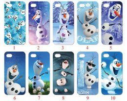 Wholesale Cute Case S3 Mini - Cute Cartoon Snowman For iPhone 6 6S 7 Plus SE 5 5S 5C 4S iPod Touch 5 For Samsung Galaxy S6 Edge S5 S4 S3 mini Note 5 4 3 phone cases