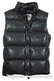 Canada Hiver Bas Gilet Hommes Marque Designer Mode Gilets Chauds De Luxe Conception Gilet En Plein Air Manteau Sans Manches Plus La Taille Pas Cher Offre
