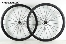 Wholesale Road Track Bike - 2017 NEW arrival,38mm clincher tubular Full carbon bike wheelset, Rear wheel Asymmetrical ,Brake track width 24.8mm,wider rim, ceramic hubs.