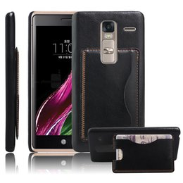 Wholesale Class Protector - Wallet Leather Case For LG spirit Flip Cover Skin Protector for LG G4 LG H440N LG Nexus 5X LG class H740 LG Leon Cover Cases