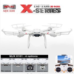 Wholesale Add Motor - MJX X400 V1 quadcopter camera hd rc helicopter drones rc helicopter can add fpv Headless and one key returned funtion