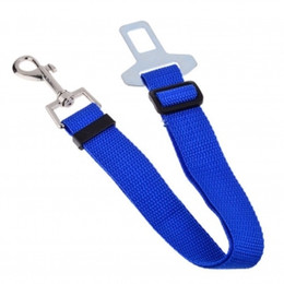 Wholesale Automotive Safety - F08669 71 Adjustable Practical Pet Dog Seat Belt Harness Car Automotive Seat Safety + Freeship