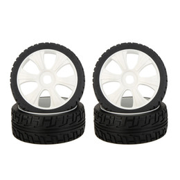 Wholesale Rc Rally - 4Pcs Brand New 1 8 Rally Car Wheel Rim and Tire 180031 for Traxxas HSP Tamiya HPI Kyosho RC Car order<$18no track
