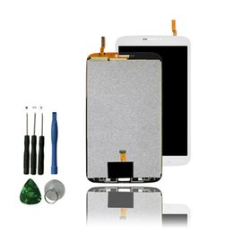 Wholesale Screen Replacement Tab - Wholesale-White T311 Lcd Display For Samsung Galaxy Tab 3 8.0 T311 T315 Lcd Touch Panel Screen Replacement With Free Repair Tools