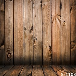 Wholesale Custom Children Vinyl - 5*6.5FT Custom Vintage Backgrounds Photography Backdrops Fotografia Children Vinyl Backdrops For Photography Wooden Floor Backdrops