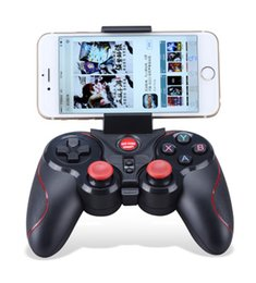 Wholesale New Joystick Game - New phone controller very comfortable professional game handle wireless gamepad bluetooth 3.0 game controller joystick