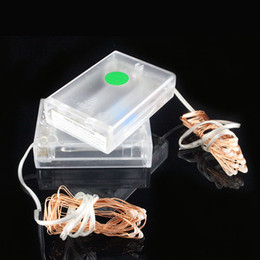 Wholesale Timer Hours - New Timer battery operated led lights 2M 20leds copper wire led lights Automatically ON for 6 Hours,then OFF for 18 Hours