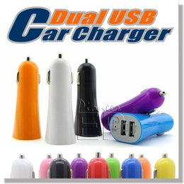 android car chargers Coupons - Universal Car Charger 5V-2.1A  1A dual usb port Car Adapter Cigarette Charger for IPhone 5s 5 6 6s samsung htc lg sony android mobile phone