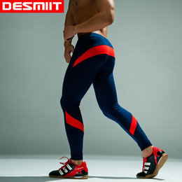 Wholesale Thermal Leggings Wholesale - 2016 Fashion Brand DESMIIT Winter Thermal underwear for men Long Johns to keep Warm Thermo Mens Leggings Assorted colors M L XL