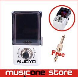 Wholesale Joyo Pedals Free Shipping - 2015 New Joyo IRONMAN Mini Pedal Irontune High Precision Pedal Tuner JF-326 Free shipping MU1203