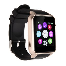 "Wholesale Tft Lcd Android - US Stock! Waterproof GT88 Bluetooth Smart Watch 1.5 ""inch TFT HD LCD Support Sim Card For iPhone Android Samsung"