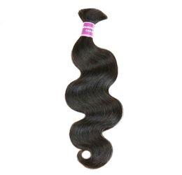 Wholesale Remy Bulk Hair Extensions - High Grade Hair Weave Brazilian Hair Bulk Grade 6A Remy Human Hair Extension Unprocessed 4PC Brazilian Virgin Hair Body Wave