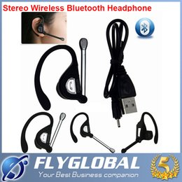 Wholesale Earhook Earphones - 2017 New Wireless Bluetooth Headset 8015 Wireless Earphone Headphone Earhook for Cell phone Univeral With Retail Packing Box freeshipping