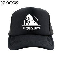 Wholesale Rock Hats - FREE SHIPPING Wholesale Fashion Casual Hip Hop Logo Custom EMINEM Rock Band Cool Mens Knit Hats And Snapback Caps Sport Brand Winter