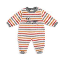 Wholesale Winter Season Boy - Wholesale-Winter Season Wear Velour Baby Boy Romper Cartoon Printing Long Sleeve O-neck Newborn Baby Girl Romper