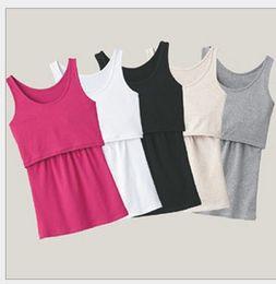 Wholesale breastfeeding clothing - New Maternity clothes Nursing Tops Breastfeeding Top Nursing Shirt Free shipping