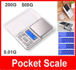 Wholesale Weight Scale Oz - Mini jewelry pocket LCD Digital Scale Electronic Scale Weight Scale backlight 200G 500G 0.01G g tl oz ct