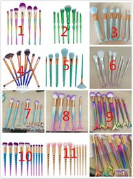 Wholesale Fishing Manufacturers - Manufacturers of new fish handle type make-up brush, beauty fish tail makeup brush, make-up brush set, free shipping