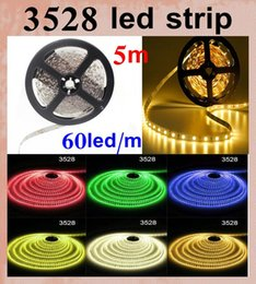 Wholesale Used Christmas Decorations - LED strip light 3528 waterproof led line light addressable rgb led strip christmas led strip light outdoor use vs 5050 2835 led strip DT013
