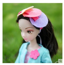 Wholesale Kurhn Doll Chinese - Wholesale-attractive alive safety Chinese black eyes & hair Kurhn baby doll happy DIY girl's best friend