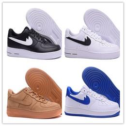 Wholesale Eur Size 46 - 2017 cheap High Quality Forces I one Men Women Caual Shoes Unisex Massage Low Flat Leisure Shoes skateboarding shoes size eur 36-46