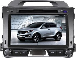 Wholesale Chinese Din Gps - 8 inch Special Car DVD Player For Kia-Sportage R 2011 with GPS, IPOD, Bluetooth,Steering Wheel control PIP dual-zone CANBUS TV