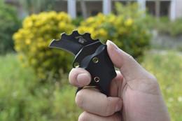 2019 karambit cuchillo aus Nuevo THE ONE mini garra Karambit cuchillo AUS-8 blade 60HRC G10 mango supervivencia cuchillo de bolsillo, el mejor regalo de Navidad envío gratis karambit cuchillo aus baratos