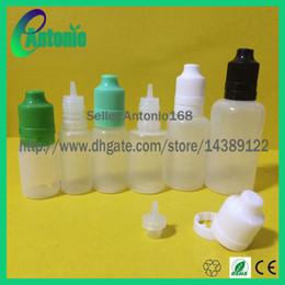 Canada 5 ml 10 ml 15 ml 20 ml 30 ml 50 ml plastique comprimé LDPE inviolable flacon compte-gouttes à l'épreuve des enfants et compte-gouttes flacons vides Offre