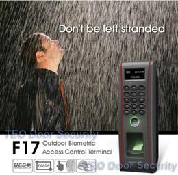 impressão digital Desconto Acesso ZK Teclado de Controle de Acesso Standalone À Prova D 'Água ZK Teco TF1700 Impressão Digital RFID Trabalho na Chuva e Tempestade
