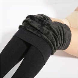 Wholesale Thicker Leggings - Thicker Leggings 2017 Autumn And Winter Solid Color Warm Pants Comfortable Soft Seamless Trousers ( 6 Colors )