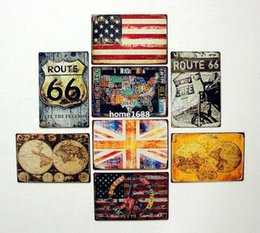 Wholesale Pictures Metal Homes - Free shipping(5 piece) Wholwsale High Quality Tin Sign Home Decor Pictures Large