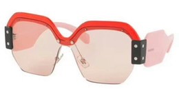 Wholesale Brand Ss - Women Designer SORBET 09SS Red Pink shaded Sunglasses 09 SS Fashion Brand Sunglasses Occhiali da sole New with case