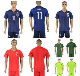 Wholesale Custom Cotton Shirts - 2018 World Cup Japan Soccer Jersey 9 OKAZAKI 10 KAGAWA 17 HASEBE 6 MORISHIGE 8 KIYOTAKE 22 TOSHIDA Home Blue Custom Football Shirt