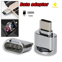 Wholesale Sd Adapter For Macbook - USB C Portable Card Reader for Micro SD Cards Micro SD to TypeC USB Adapter Data Transfer for S8 LG G6 Huawei MacBook