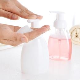 Wholesale Wholesale Foaming Soap Dispenser - 250 300 ML Foaming Dispensers Pump Soap Bottles 3 Colors Refillable Liquid Dish Hand Body Soap Suds Travel Bottle