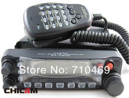 radios yaesu Rebajas DHL-freeshipping al por mayor + mejor Yaesu FT-7900R doble banda VHF UHF 144 / 430MHz jamón móvil de radio transceptor pies 7900r + 1 año de garantía