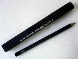 2017 envio rápido Menor preço Delineador Lápis Lápis Olho Kohl Preto 'Com Caixa, 20 pçs / lote de Fornecedores de lápis de olho verde