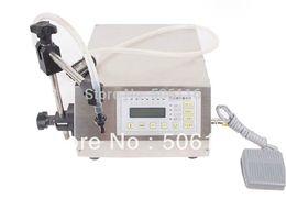 Wholesale Liquid Filling Machines - Free ship Digital Control Pump Drink Water Liquid Filling Machine GFK-160 5-3500ml