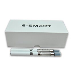 Wholesale Double Ecigarette - E-smart ecigarette vape pen ego double battyer with ce5 atomzier electronic cigarette vape mod vaporizer for e liquid