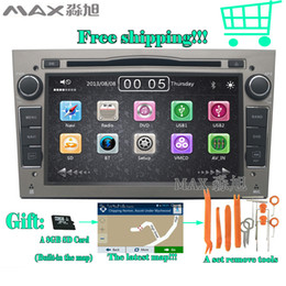 Wholesale 7inch Navigation - 7inch Gray Car DVD Player GPS Navigation System For Vauxhall Opel Astra H G J Vectra Antara Zafira Corsa with BT SWC Radio