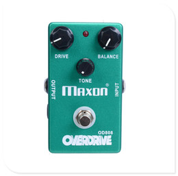 Wholesale Distortion Overdrive - OVERDRIVE OD808 Guitar Effect Pedal And True Bypass MU0841