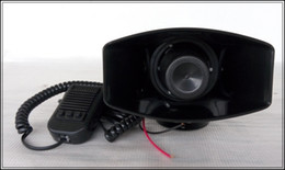 Wholesale Tone Horns Motorcycle - High quality DC12V, 3 tone 60W police car siren alarm amplifiers warning horn speaker,ambulance warning siren motorcycle alarm