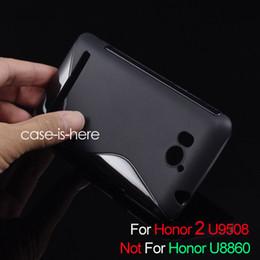 welle iphone abdeckungen Rabatt Wholesale-Free Shipping Weiche S-Line Wave TPU-Gel-Abdeckungs-Kasten-Haut für Huawei U8950D Ascend G600 / Honor 2 U9508 (8 Farben verfügbar)