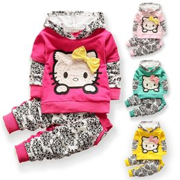 Wholesale 24 Month Christmas Outfit - baby girls christmas outfits Clothing sets hoodies+pant Children hoodies spring autumn kids 2pcs Sets sport clothes set